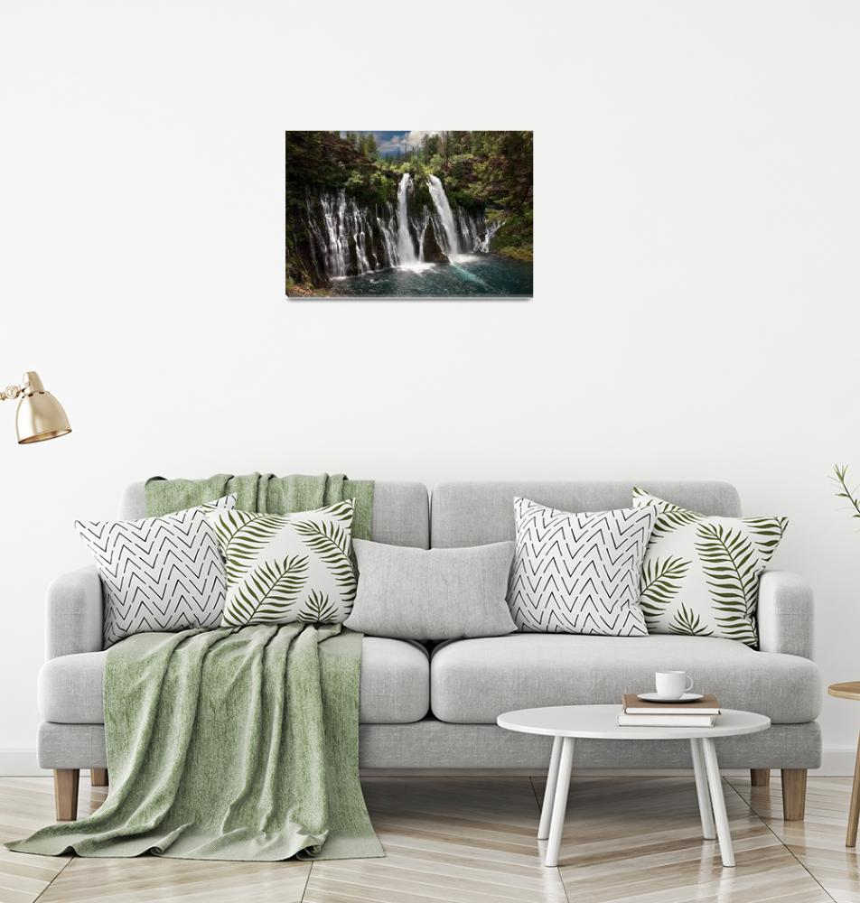 """Burney Falls""  (2009) by pbk"