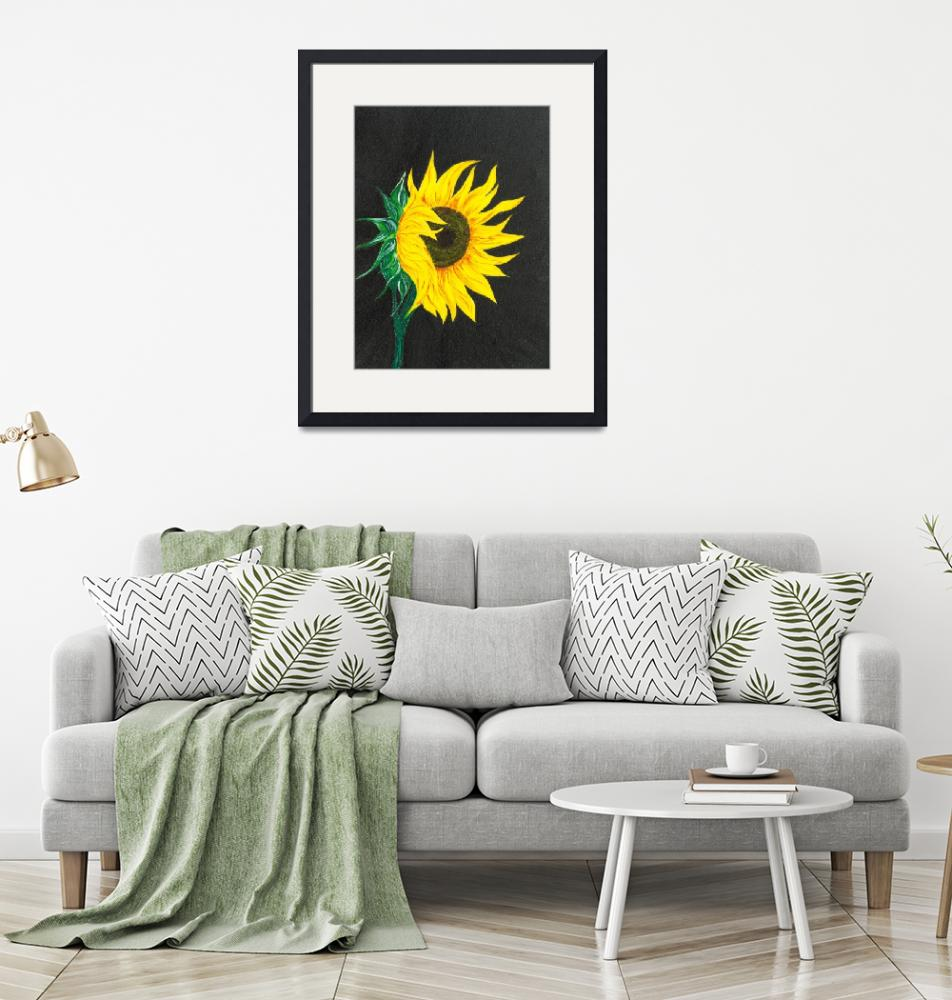"""Sunflower""  (2020) by boyan"