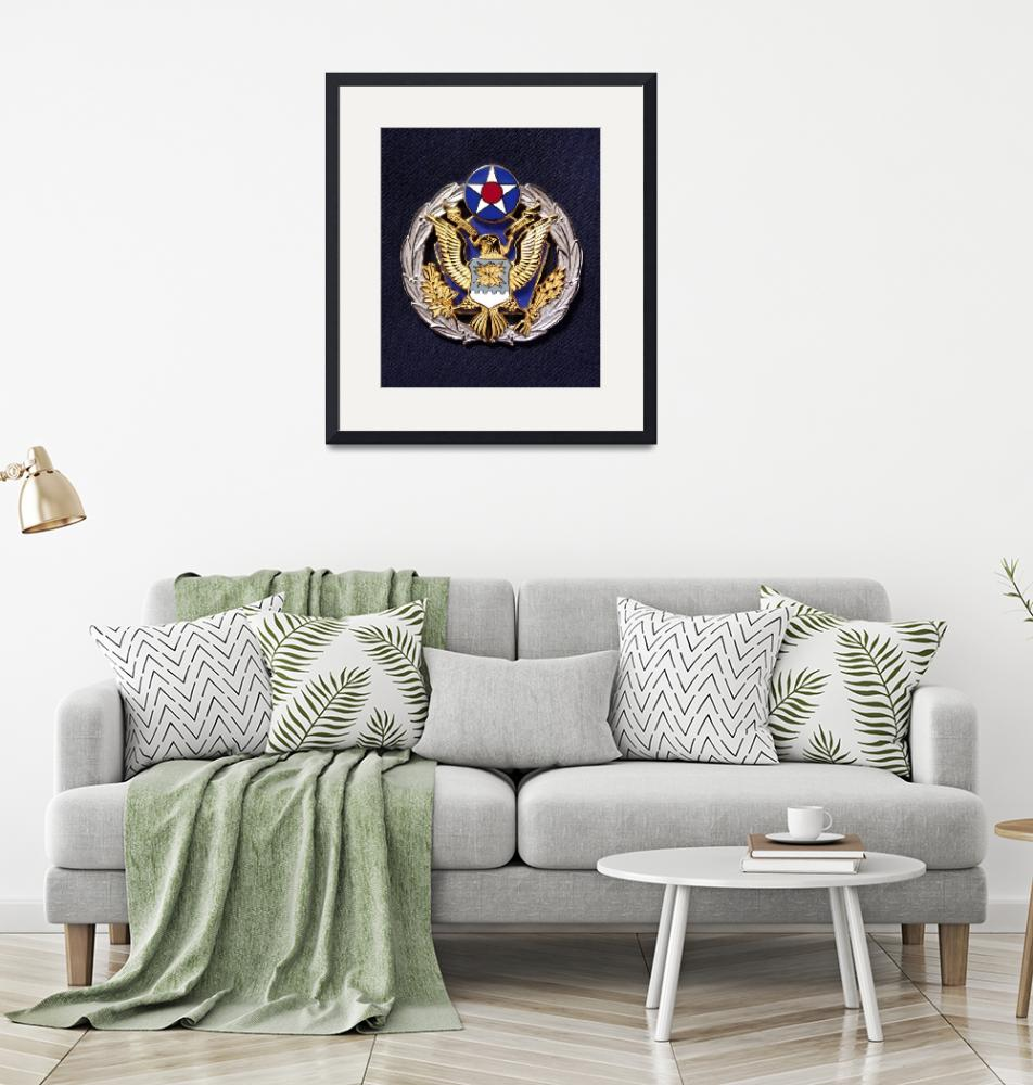 """""""The new Headquarters Air Force badge""""  by stocktrekimages"""