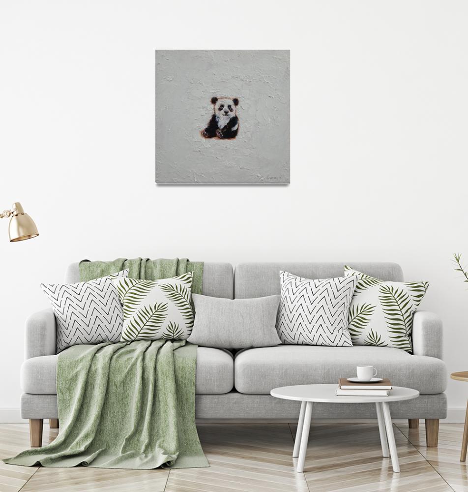 """Tiny Panda""  by creese"