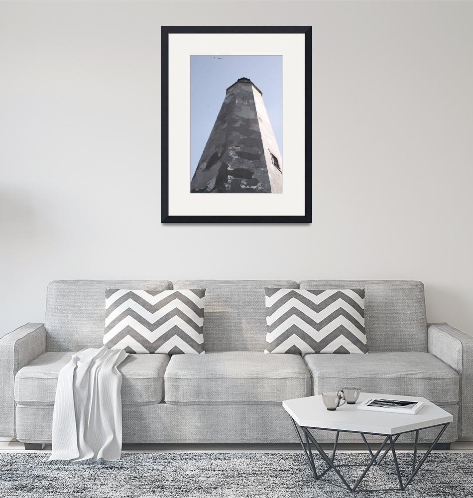 """""""Old Baldy LIghthouse, NC""""  (2008) by nadinerippelmeyer"""