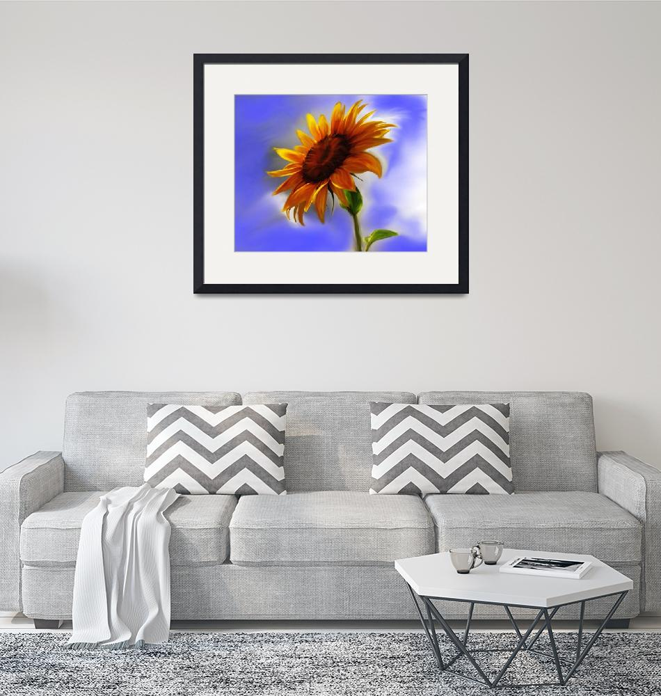 """Sunflower""  (2008) by milannadesign"