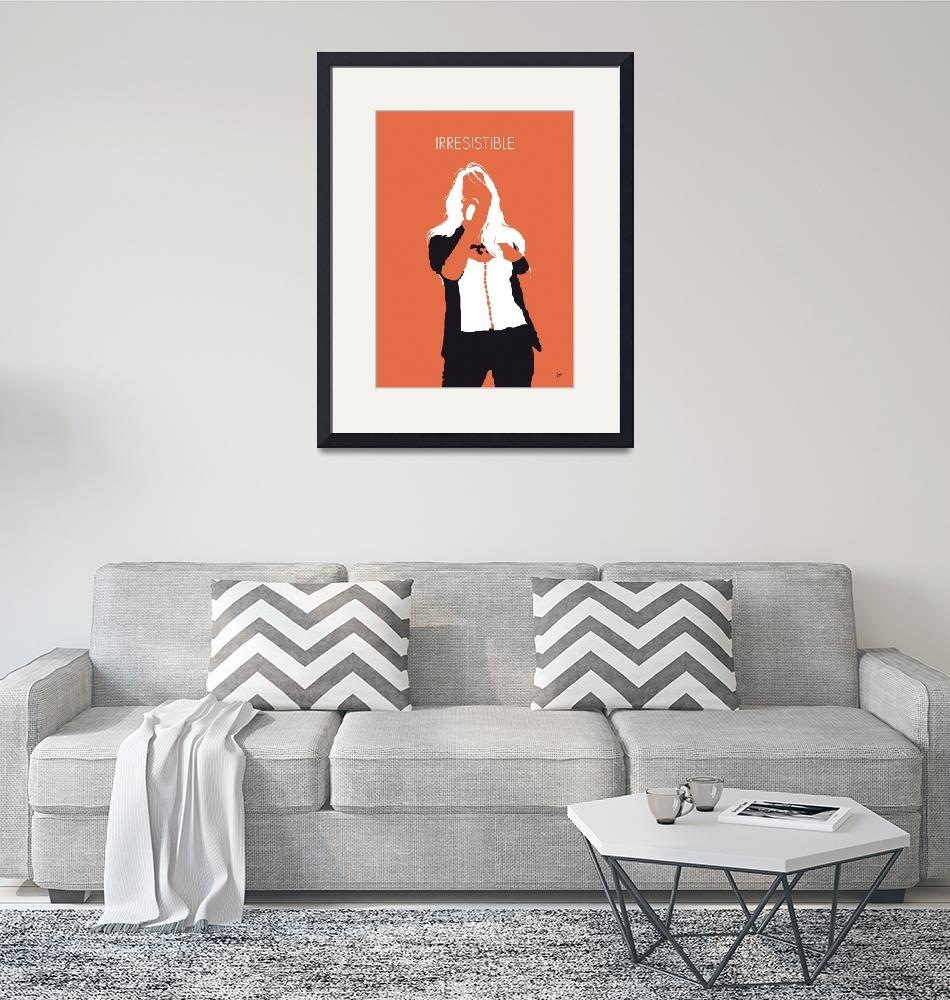 """""""No293 MY Jessica simpson Minimal Music poster""""  by Chungkong"""