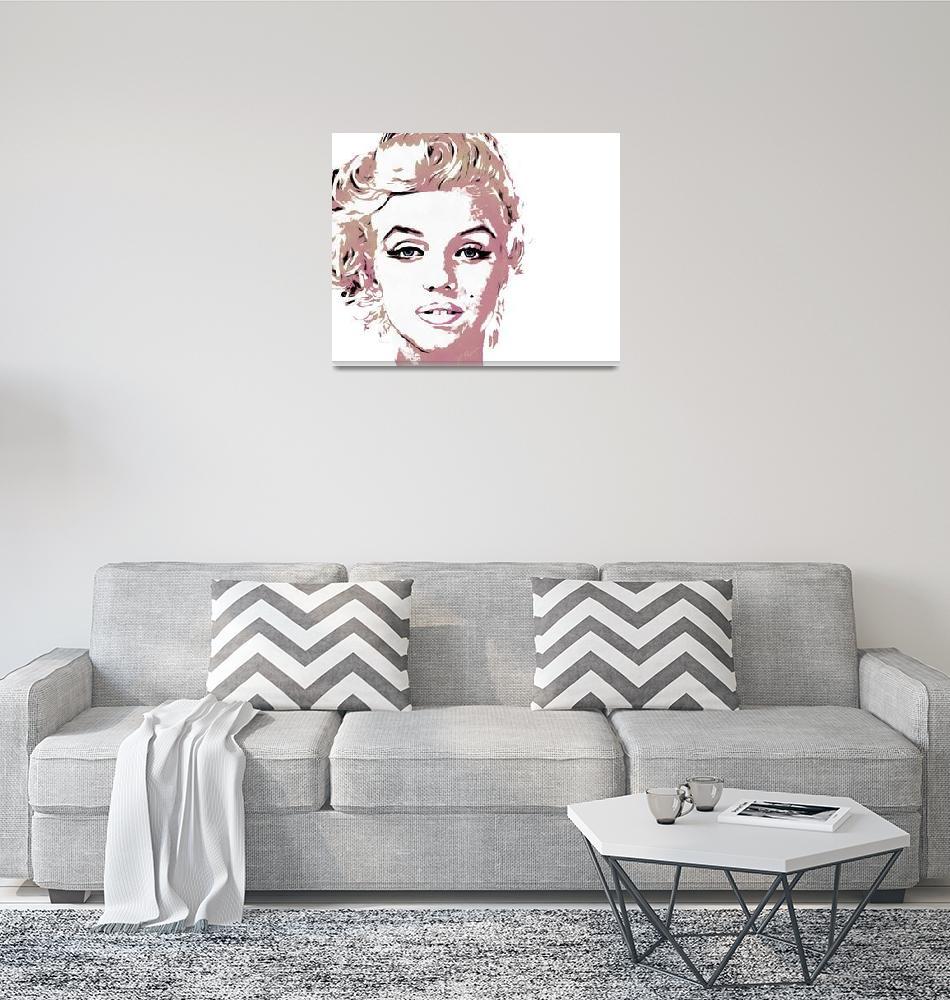 """Marilyn""  (2013) by charlieroman"