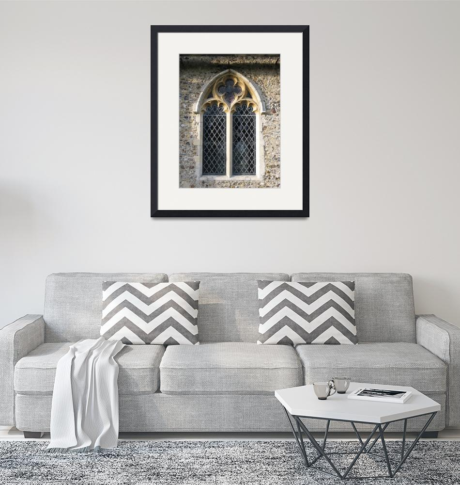 """Gothic church window""  (2010) by katien"