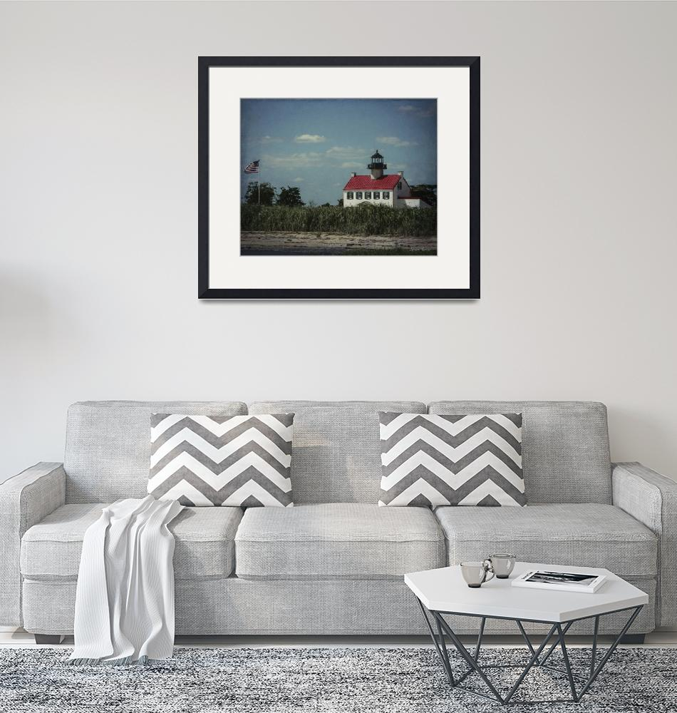 """""""East Point Lighthouse""""  (2018) by LouiseReeves"""