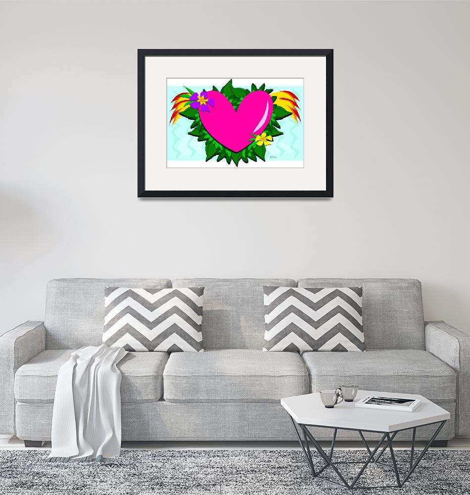 """""""Loving Heart with Plants"""" (2012) by theblueplanet"""