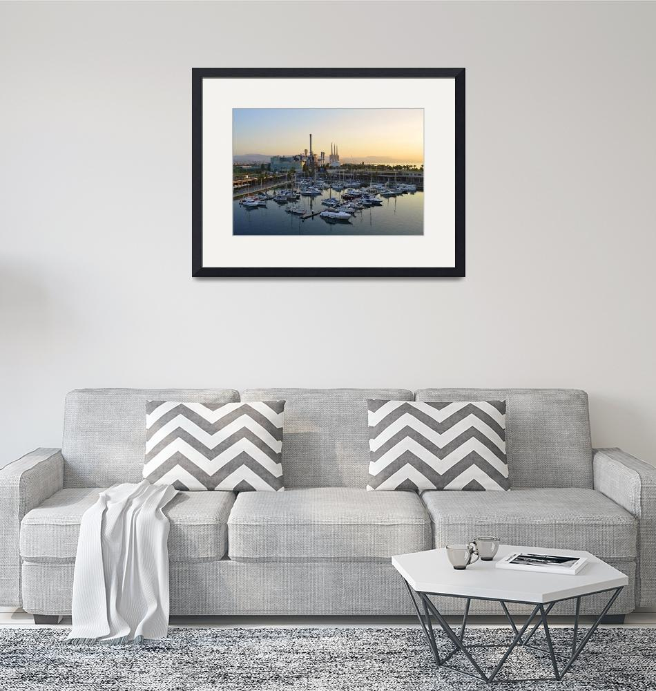 """""""Industrial Harbor""""  (2015) by mStepanPhotographer"""