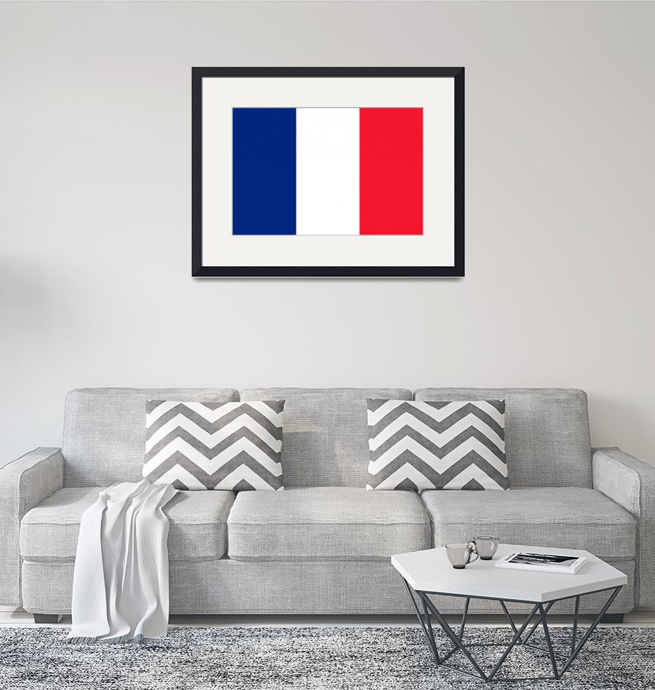"""tobias_Flag_of_France""  by ArgosDesigns"