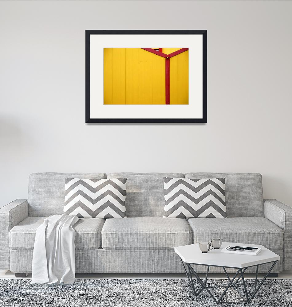 """""""Yellow metal""""  (2017) by ginton"""