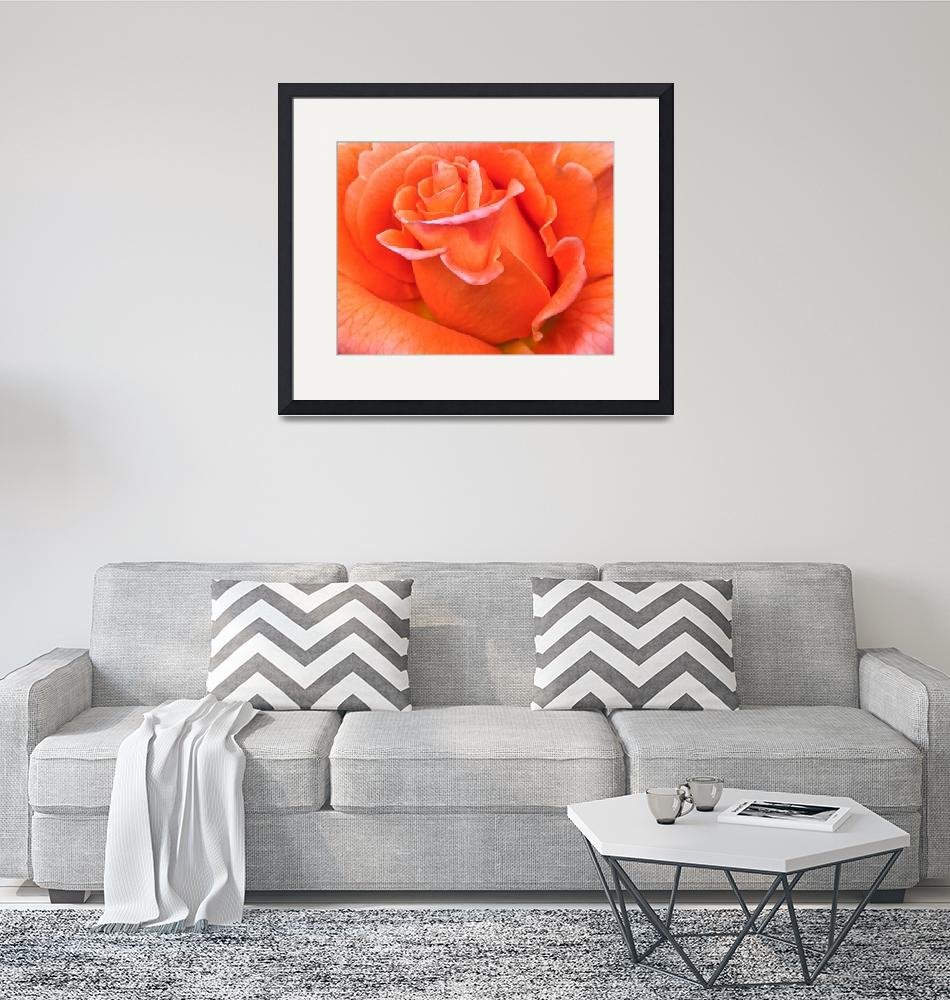 """""""Orange Flame""""  (2016) by Kirtdtisdale"""