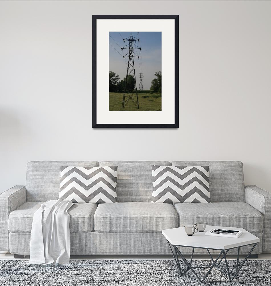 """""""Topeka-Atchison 66-kV Double Circuit Line""""  (2006) by TheElectricOrphanage"""