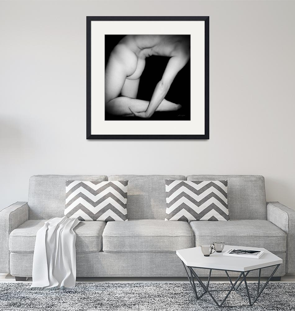 """""""Male Nude - Black and White 7""""  by johncorney"""
