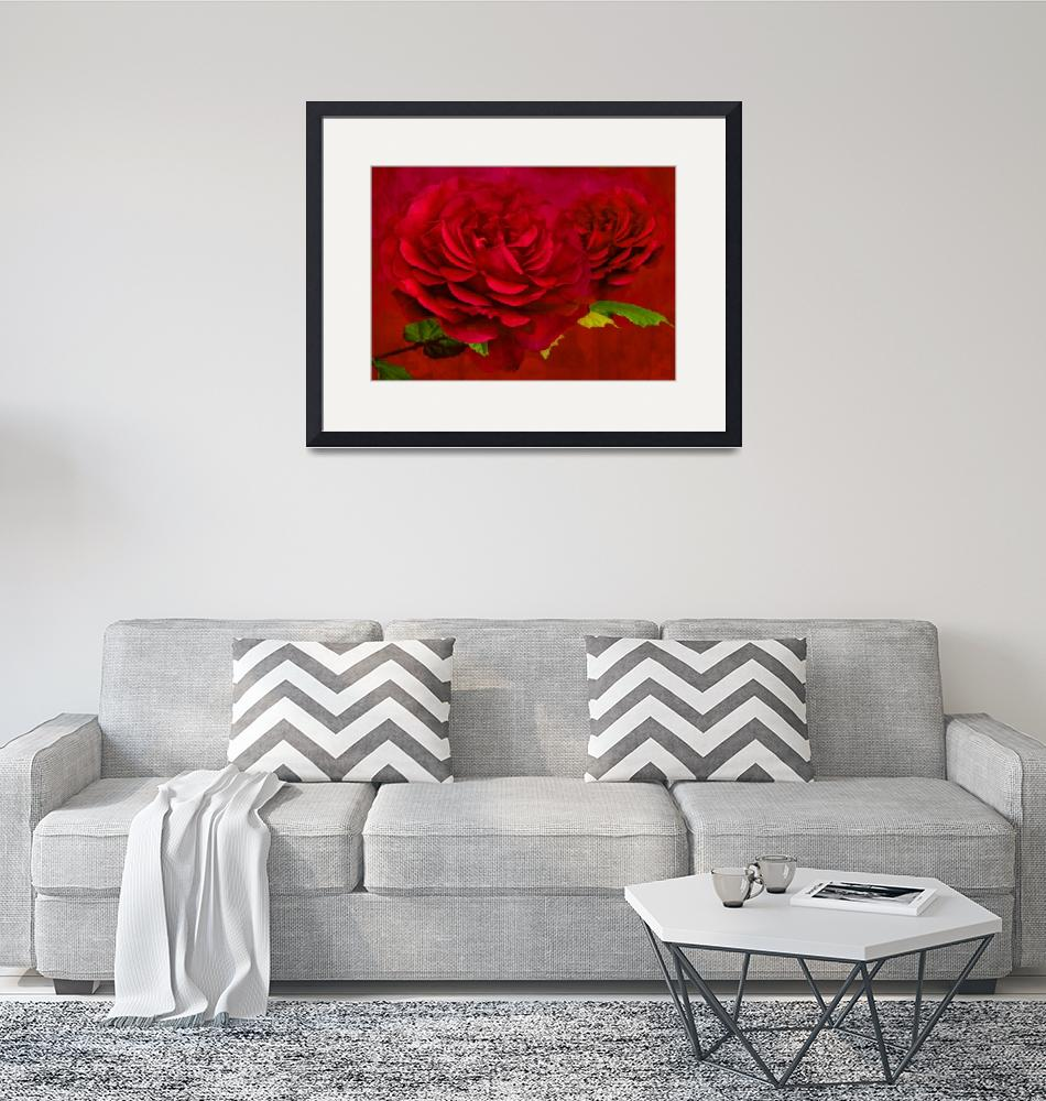 """Rose Textured""  by StevePurnell"