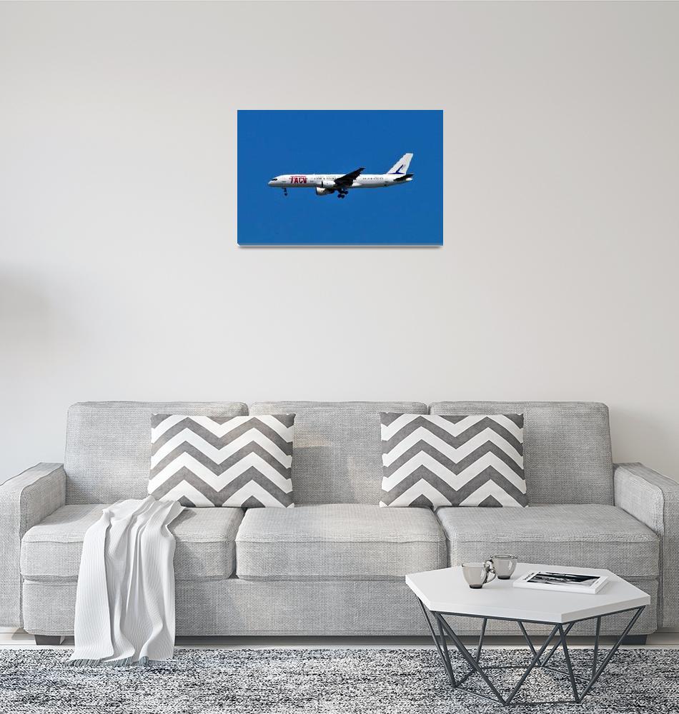 """1st TACV B-757, D4-CBG,"