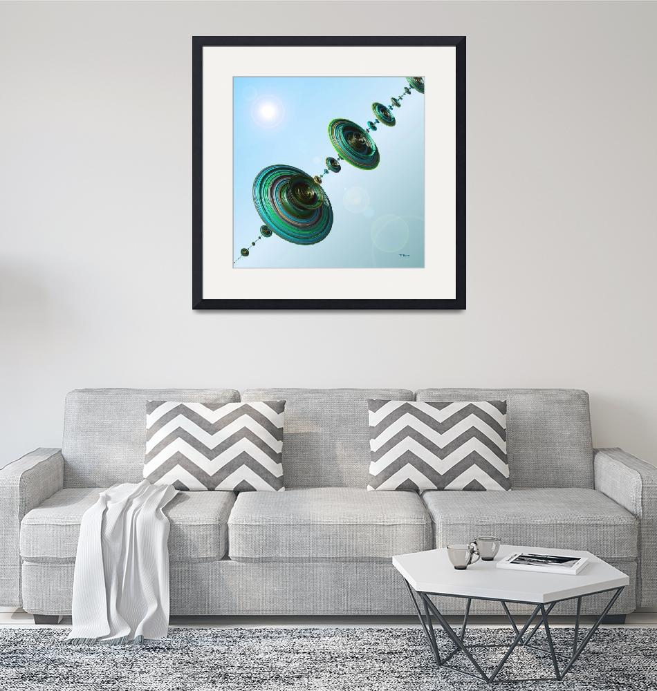"""Harmony-Spheres in Flight""  (2014) by Chicagoartist1"