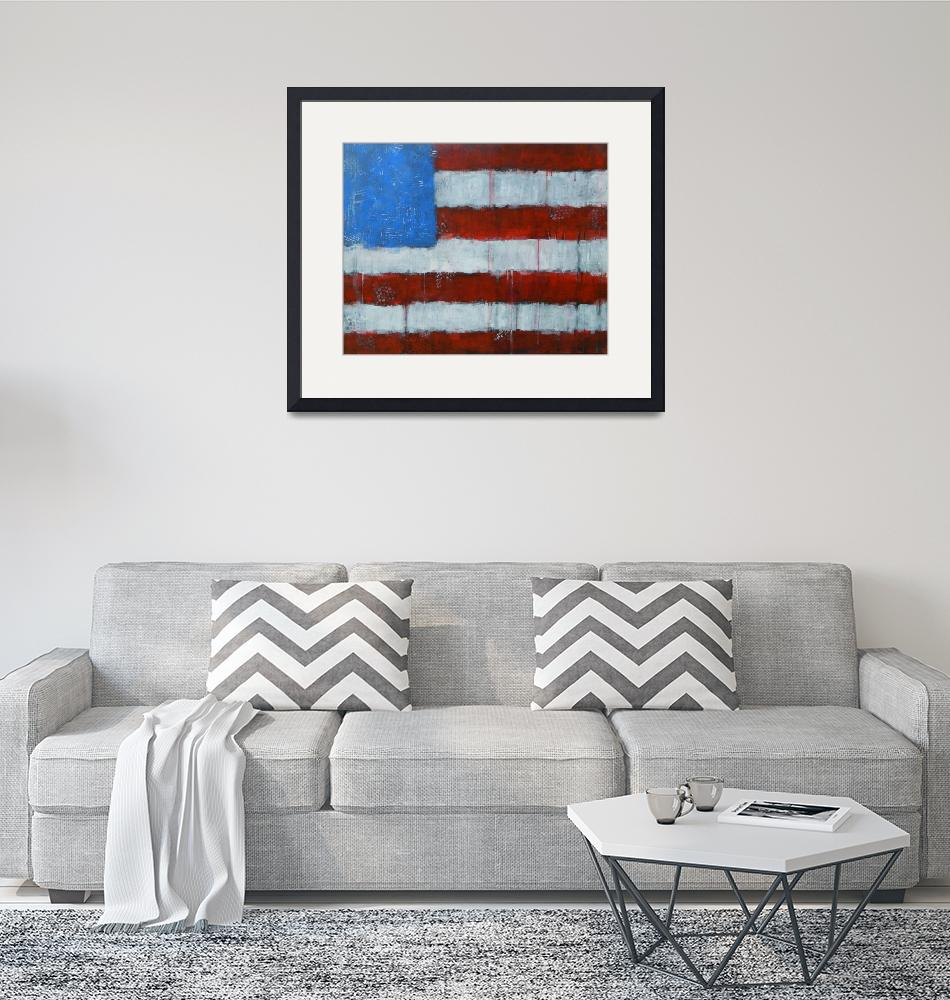 """""""Red, White and Blue""""  (2016) by KateMarionLapierre"""