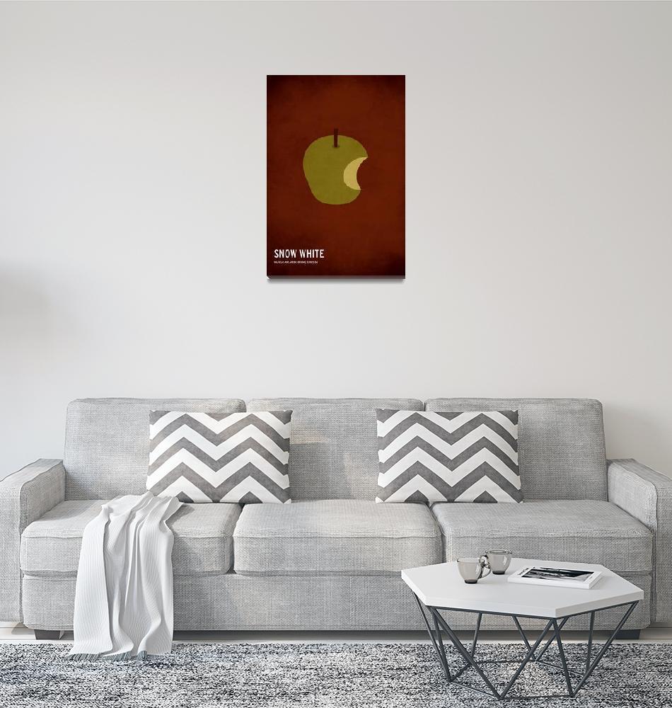 """Snow White""  (2010) by squareinchdesign"