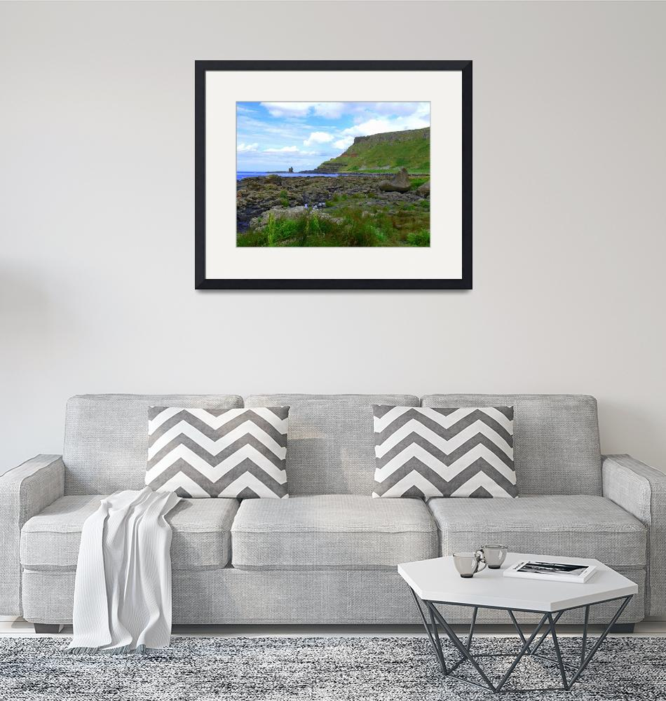 """Causeway Coast""  by Cat-Art"
