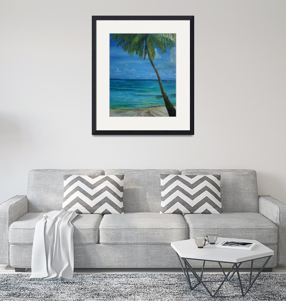 """""""Beach view right""""  (2007) by artistamy"""