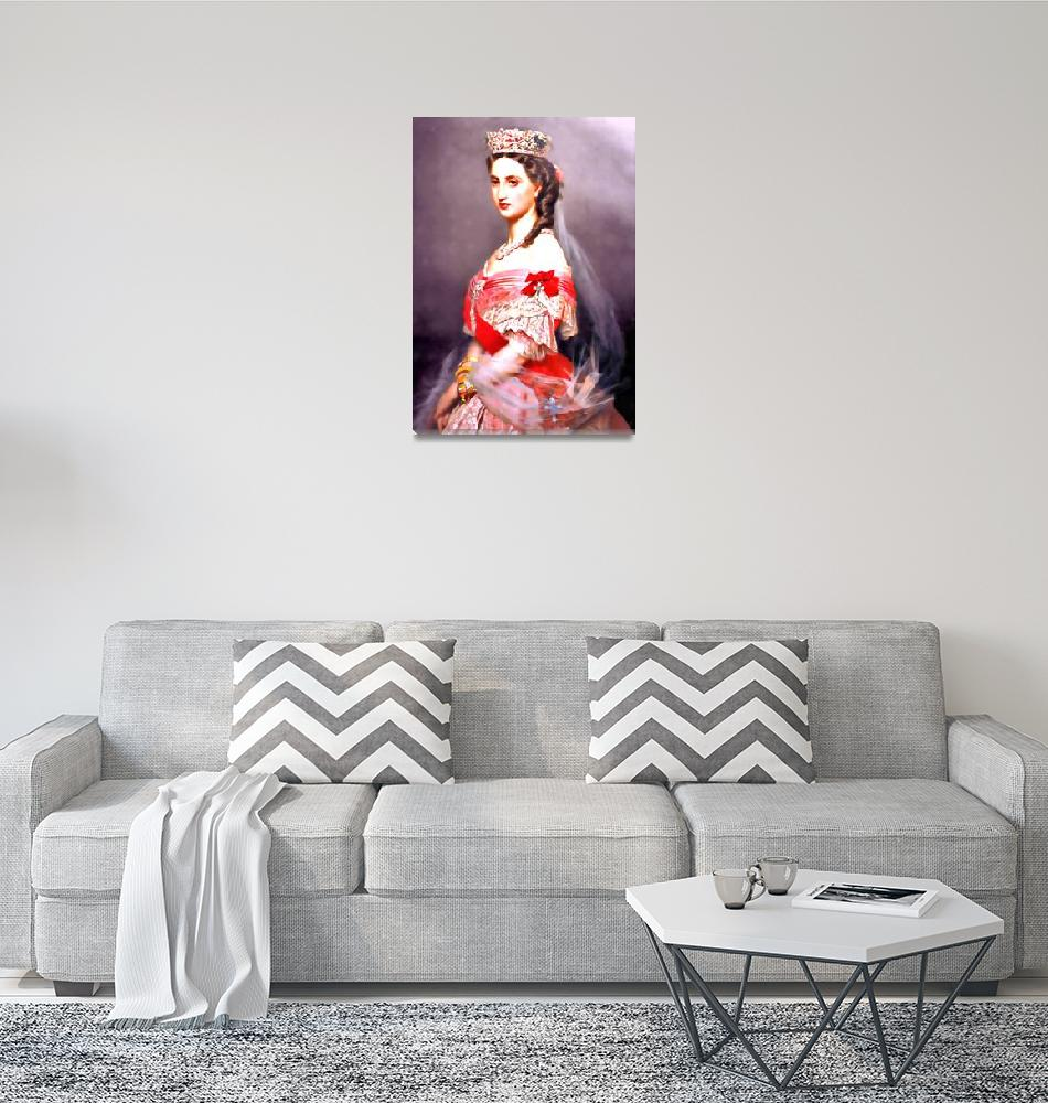 """Charlotte of Belgium aka Carlota of Mexico""  (2010) by bandtdigitaldesigns"
