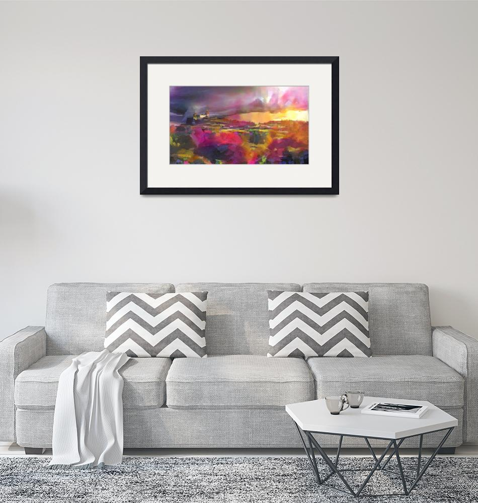 """""""Contemporary landscape""""  by Art_by_Lilia"""