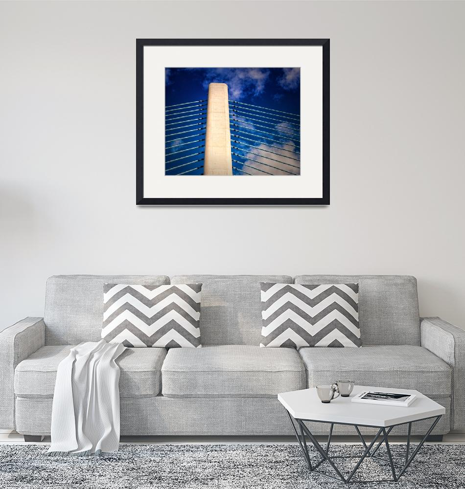 """""""Ivory Tower of the Indian River Inlet Bridge""""  by travel"""