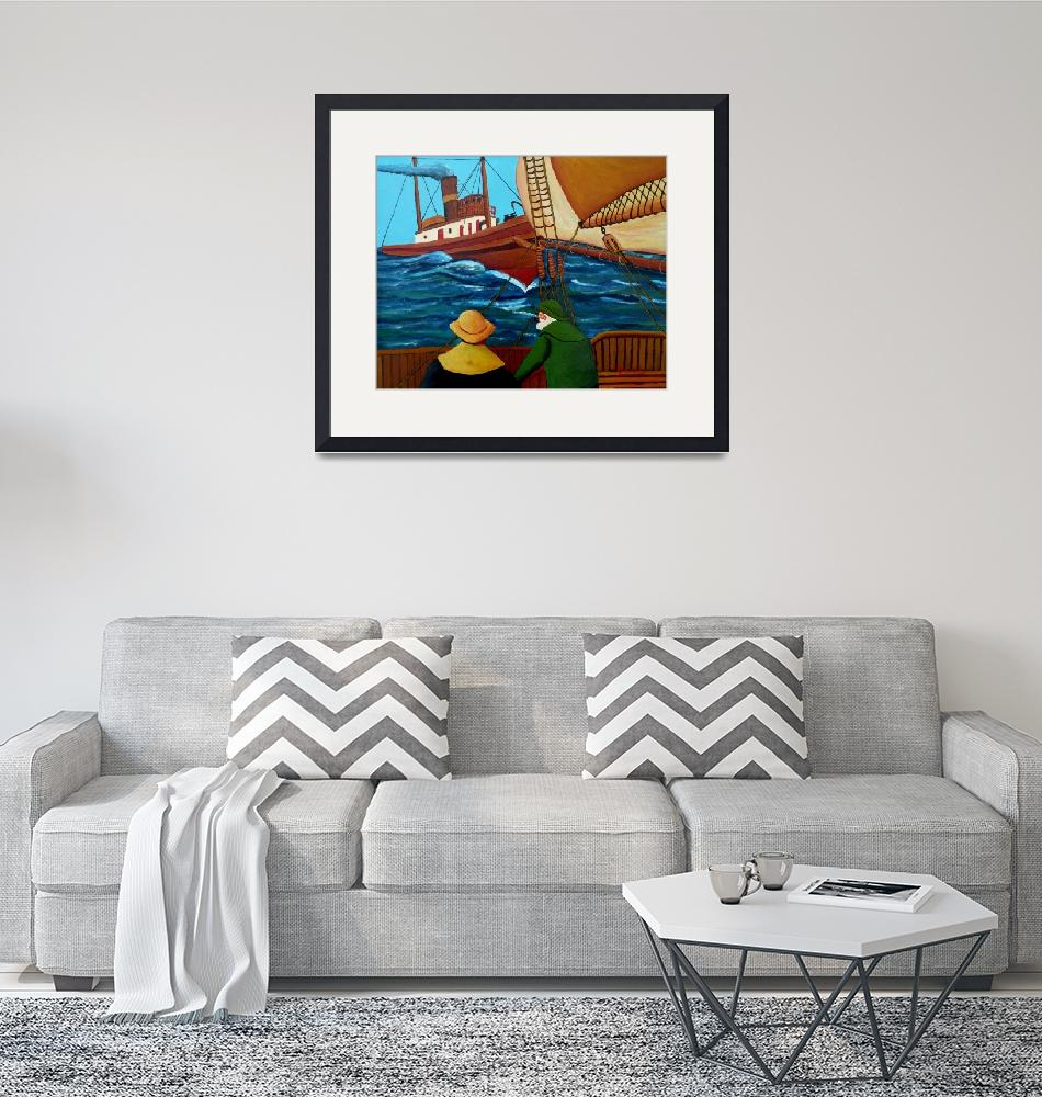 """""""Meeting At Sea""""  (2018) by anthonydunphy"""
