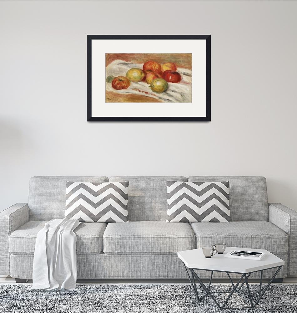 """Apples, Orange, and Lemon by Renoir""  by FineArtClassics"