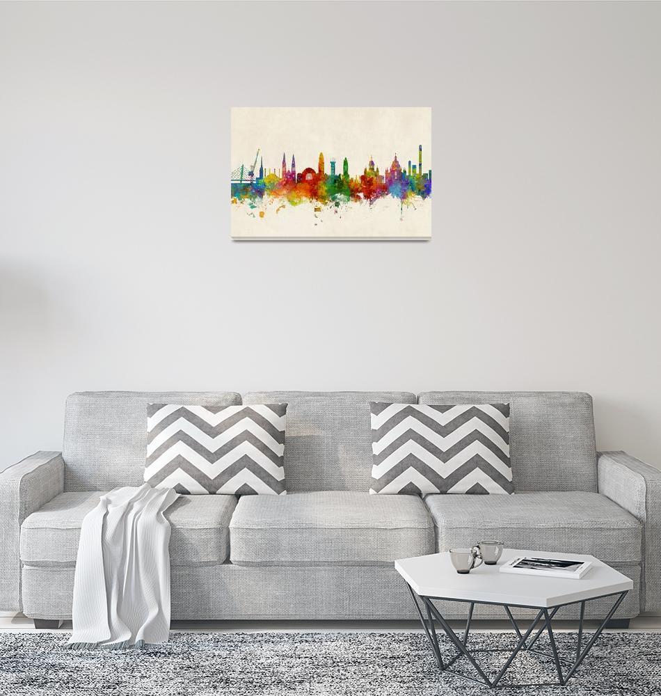 """4269-A1_canvas""  by ModernArtPrints"