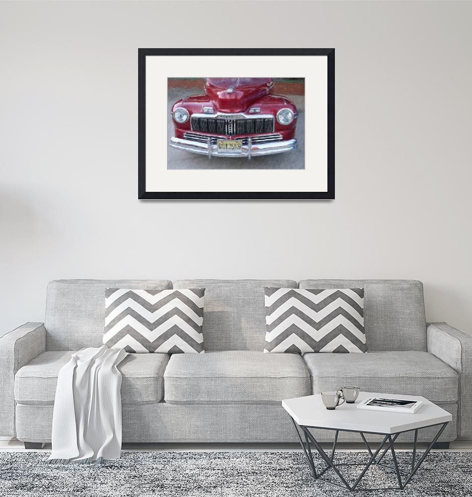 """""""1948 MERCURY FRONT END"""" (2010) by shaynaphotography"""