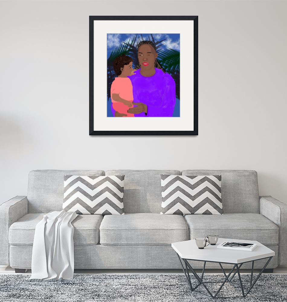 """""""Mother and Daughter""""  (2006) by pharrisart"""
