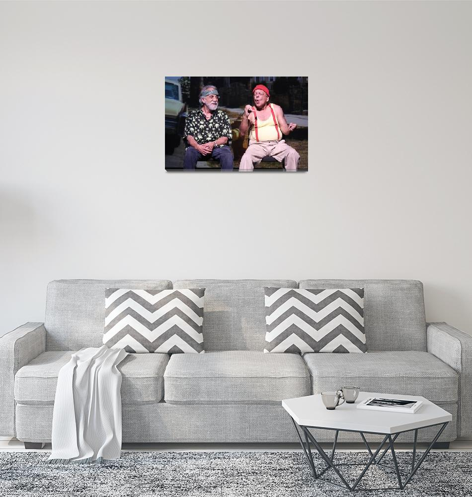"""""""Comedians Cheech & Chong""""  by FrontRowPhotographs"""