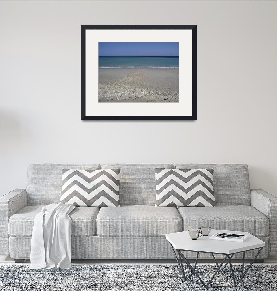 """""""The View at Blind Creek Beach""""  (2006) by KeriLee"""