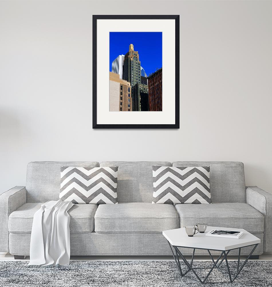 """""""Chicago Skyscrapers 2012 #1""""  (2012) by Ffooter"""