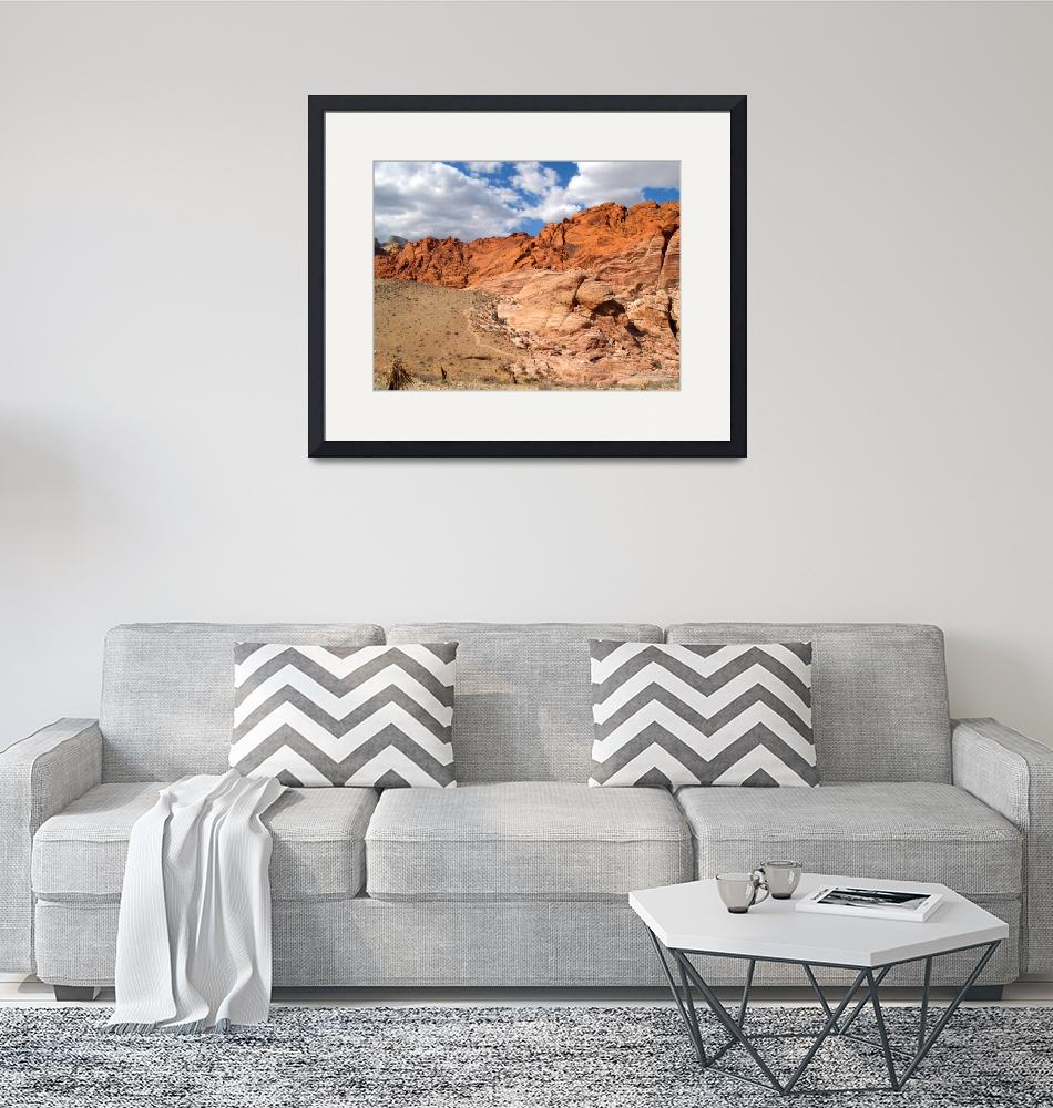 """""""Red Rock Canyon""""  (2007) by Carterphoto"""