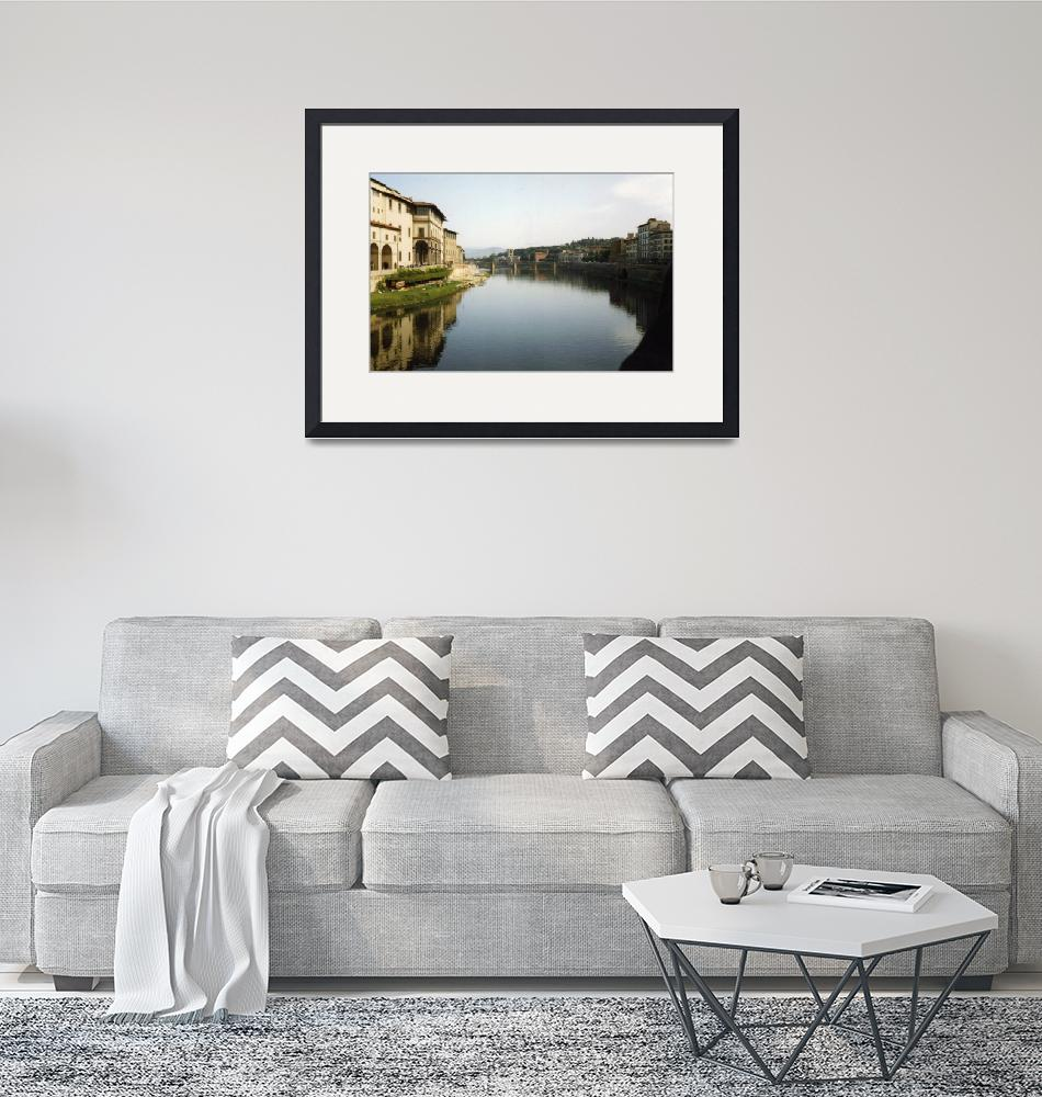 """""""The River Arno, Florence""""  by rgtmum"""