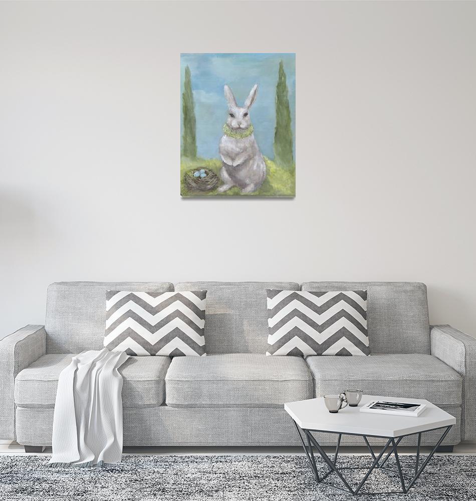 """""""Rosemary Rabbit""""  (2006) by KimberlyHodge"""