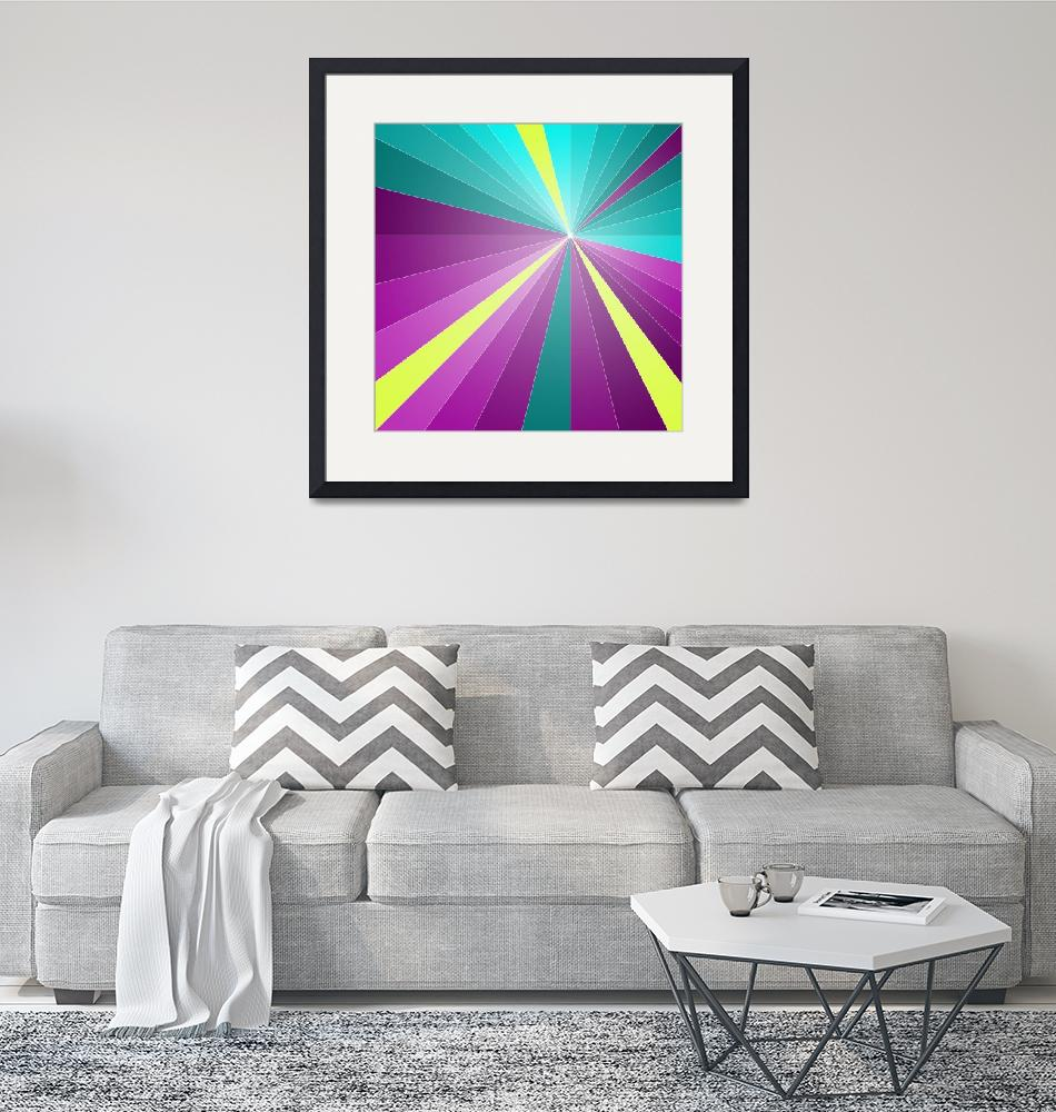 """""""Rays of color""""  (2014) by eDrawings38"""