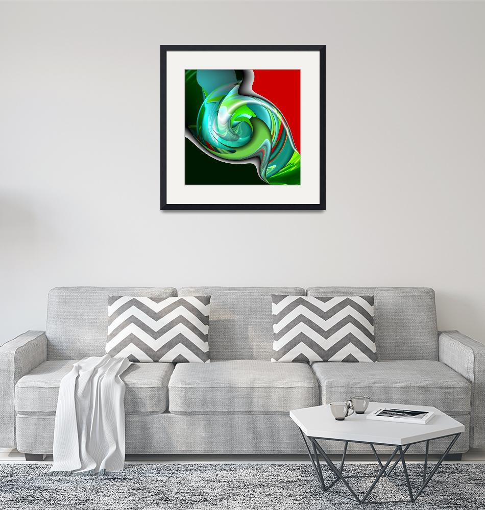 """""""All Twisted Up""""  (2008) by ArtPrints"""