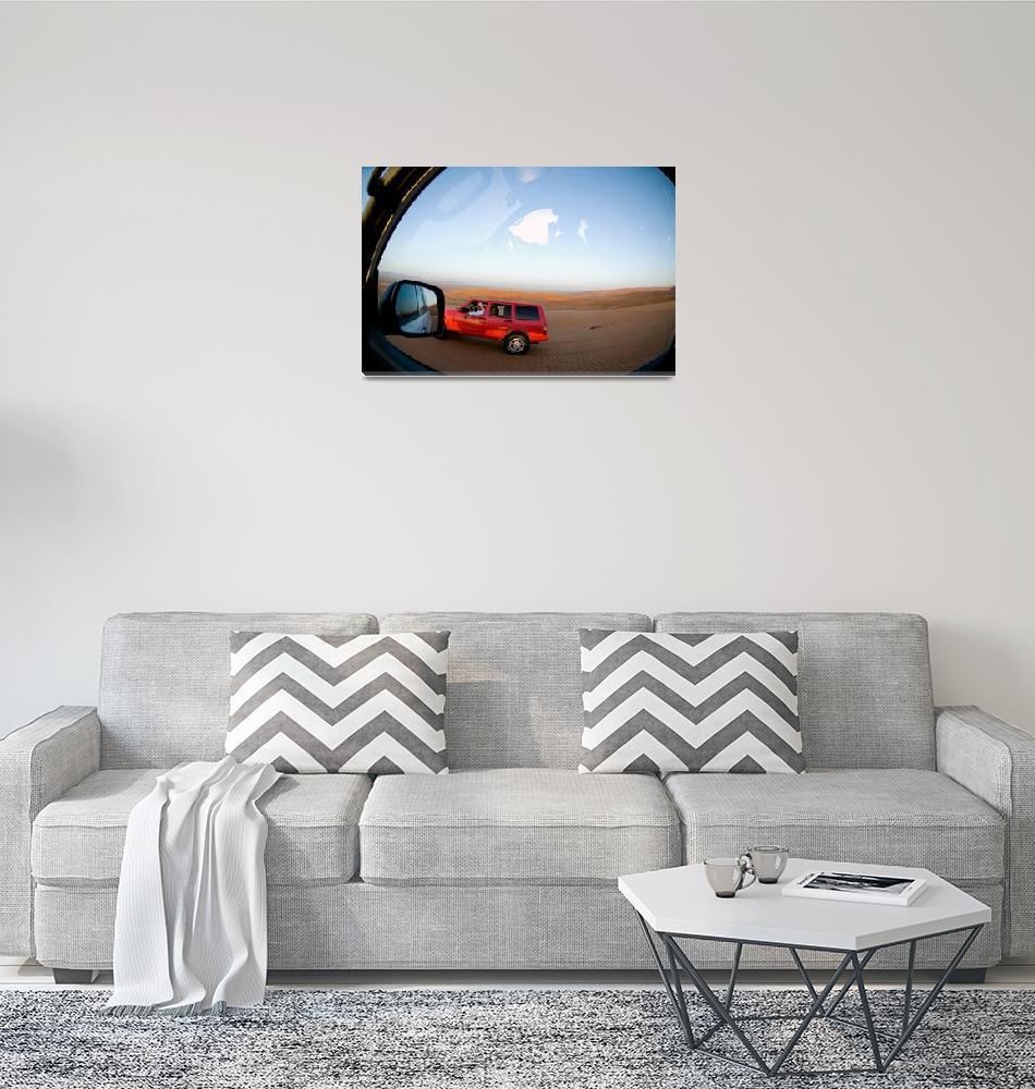 """Sand Dune Driving""  (2007) by dennisflood"