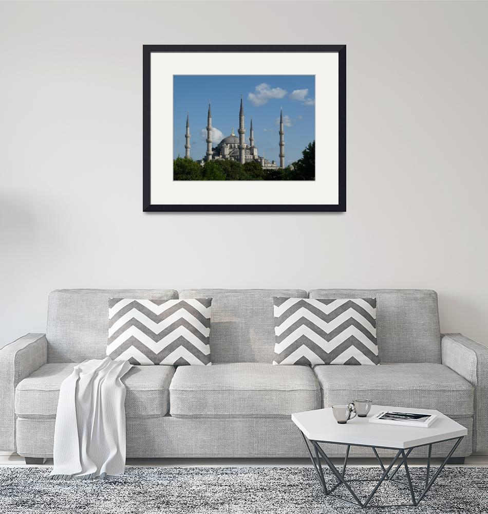 """The Blue Mosque, Istanbul, Turkey""  (2009) by raftergood"