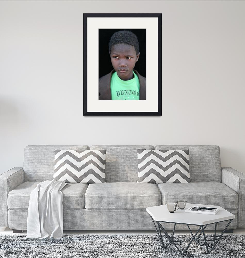"""""""Mauritanian Boy 3""""  (2009) by AndreaMoorePhotography"""