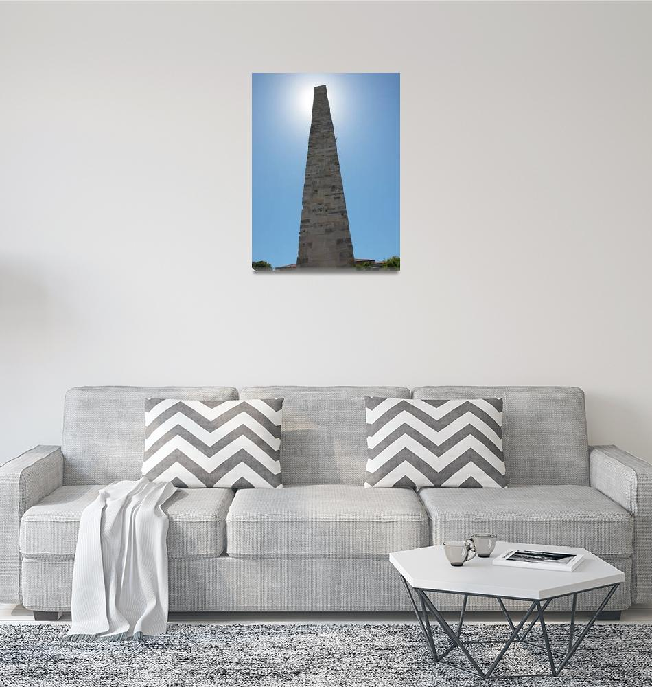 """""""The Walled Obelisk in Istanbul, Turkey""""  (2013) by KrisSidDesigns"""