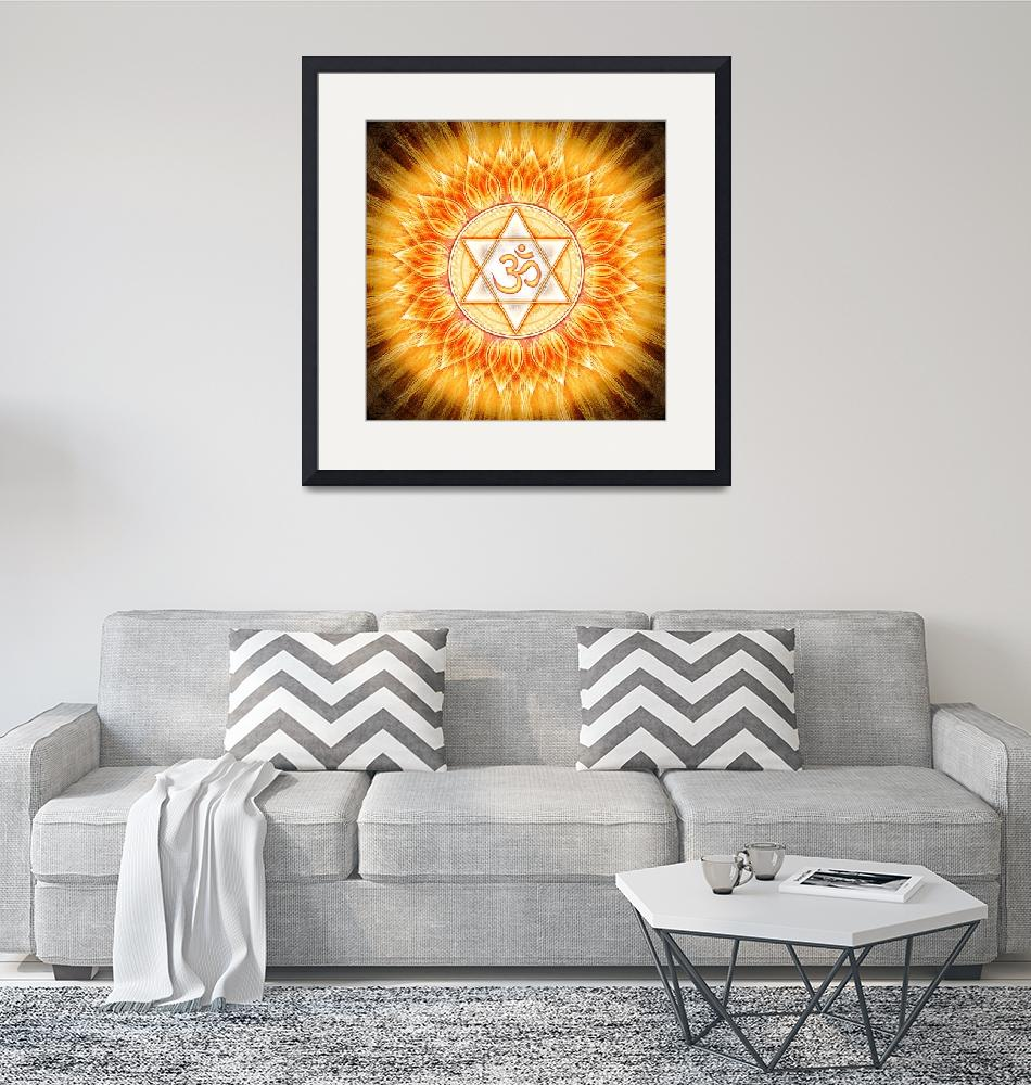 """""""Om - Lotus Sun""""  by dcz"""
