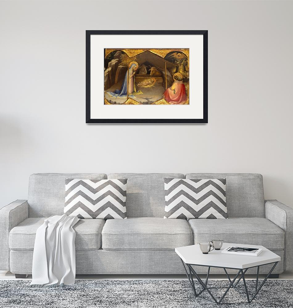 """Lorenzo Monaco~The Nativity""  by Old_master"