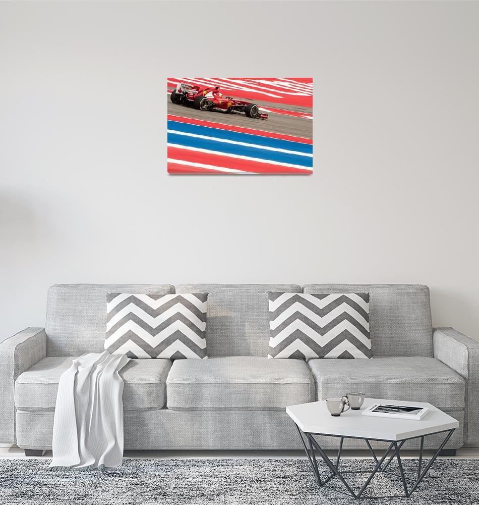 """US Formula 1 Grand Prix 2013""  by dawilson"