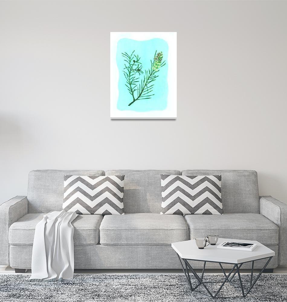 """""""TEA TREE (Melaleuca alternifolia)""""  (2008) by EveHoward"""