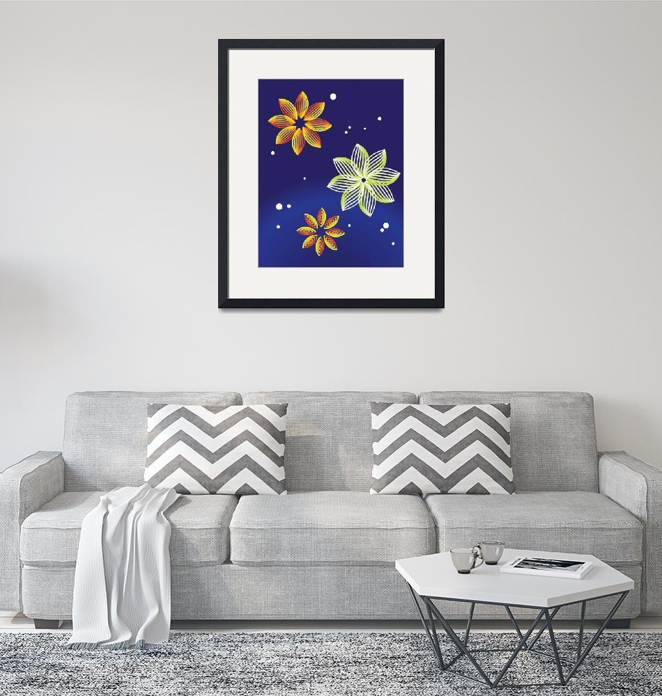 """""""Flower Abstract""""  by siichan"""