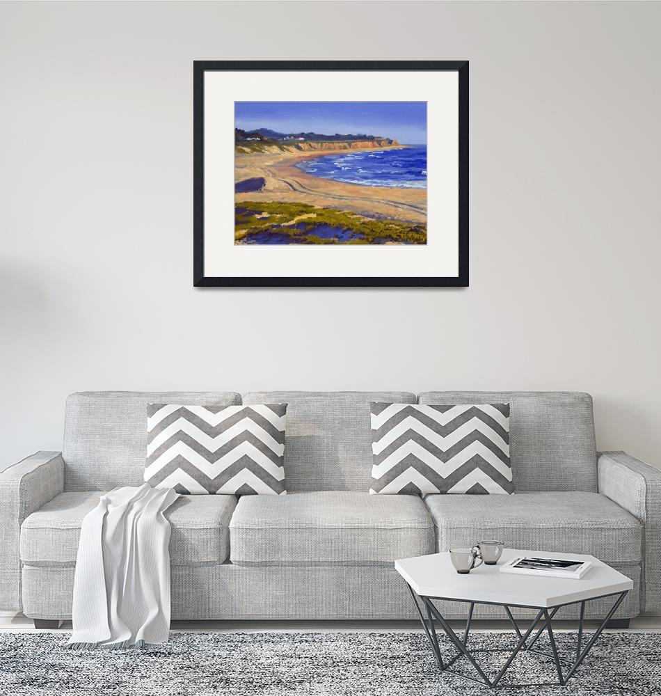 """California Beach: Half Moon Bay""  (2007) by KeatingArt"